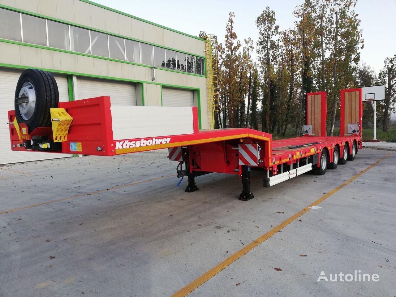 new KASSBOHRER SLA4. garantiya, beznalichnyy raschet s NDS, lizing  low bed semi-trailer