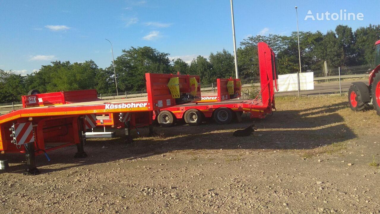 new KASSBOHRER SLS 3 low bed semi-trailer