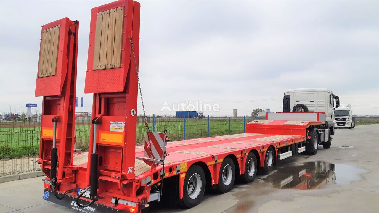 new KASSBOHRER SLS 4 low bed semi-trailer