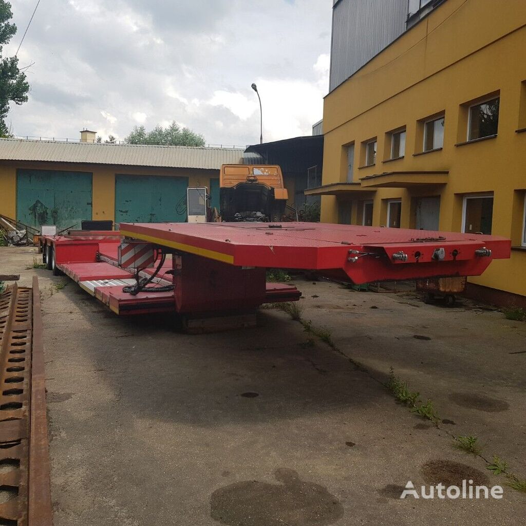 KERIS Naczepa niskopodwoziowa Tiefbett low bed semi-trailer