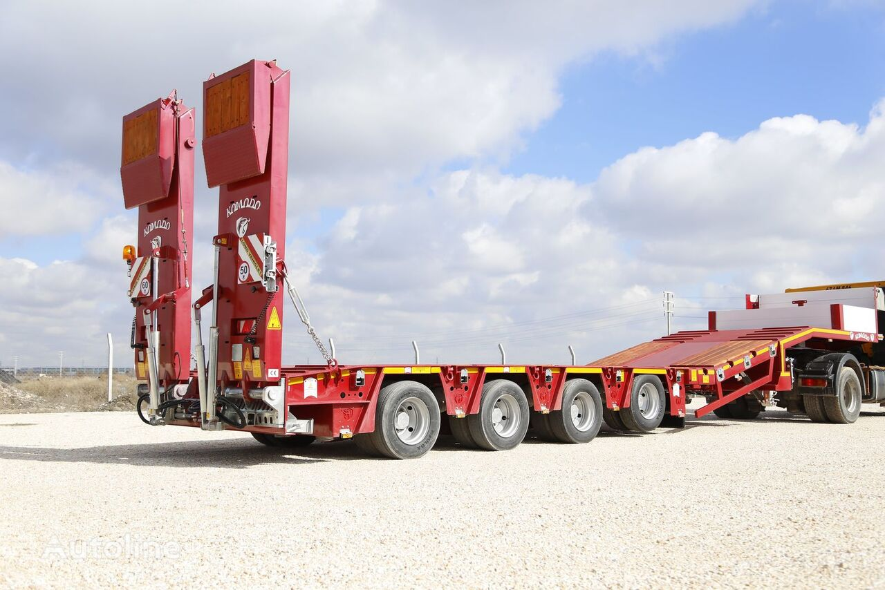 new KOMODO EXTENDABLE LOWBED low bed semi-trailer