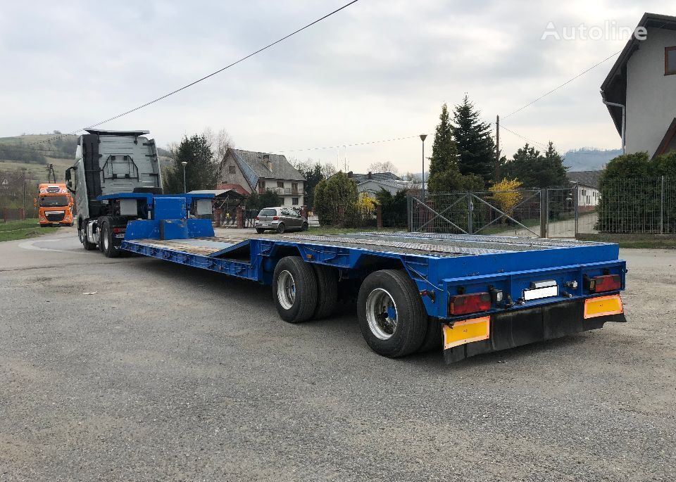 LANGENDORF SATB20/27 tiefbett low bed semi-trailer