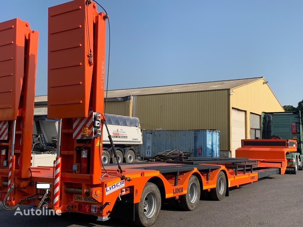 new LECI TRAILER LIDERTRAILER low bed semi-trailer