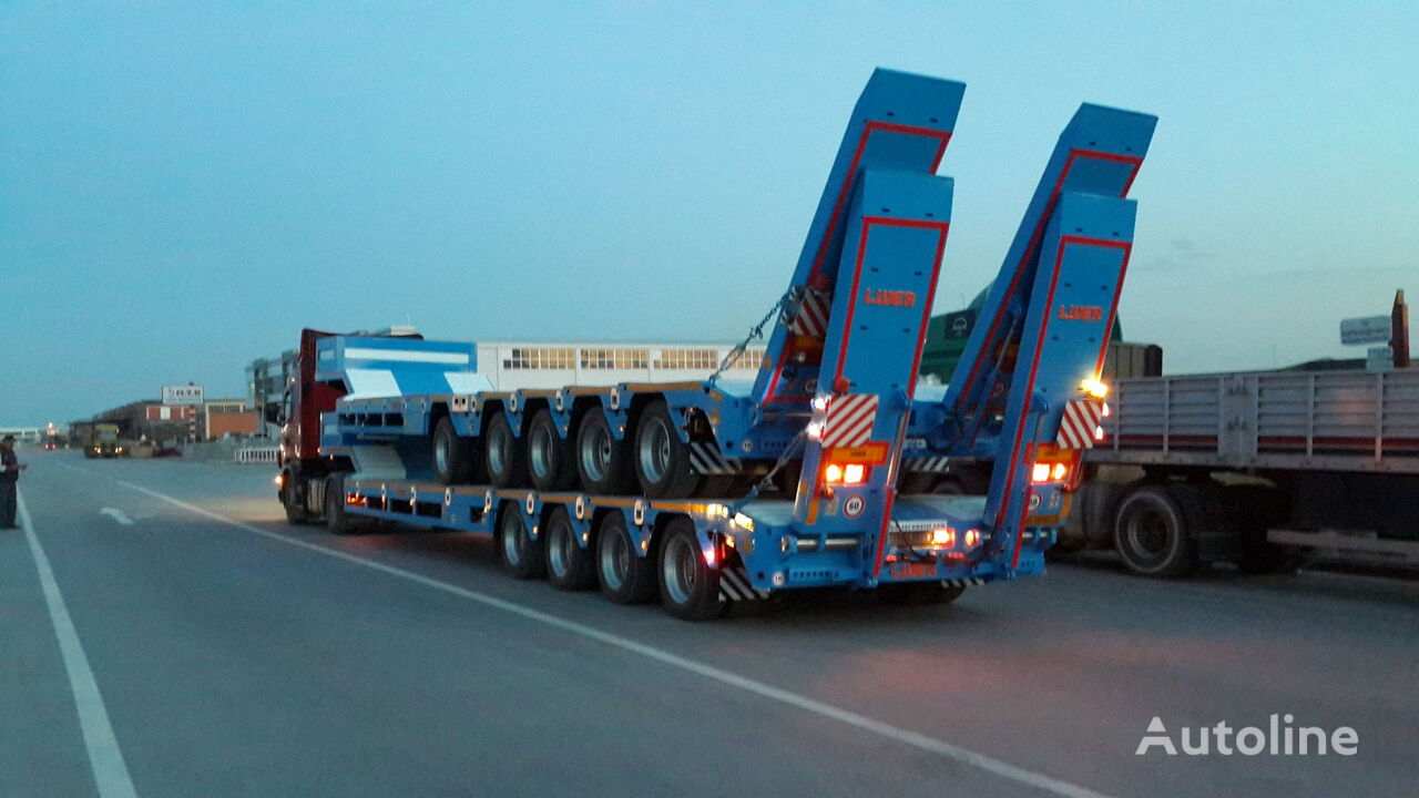 new LIDER 2019 NEW from manufacturer  low bed semi-trailer