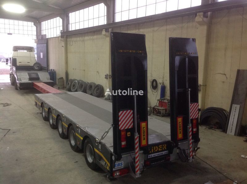 new LIDER NEW 2019 model new by manufacturer Lider Trailer low bed semi-trailer