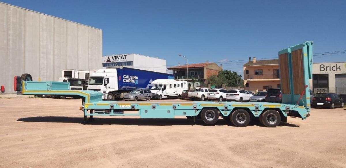 new LIDER trailer HARDOX 450 low bed semi-trailer
