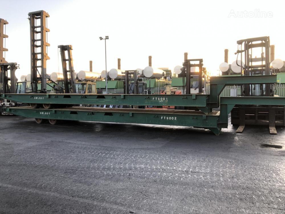 MAFI 60t  low bed semi-trailer