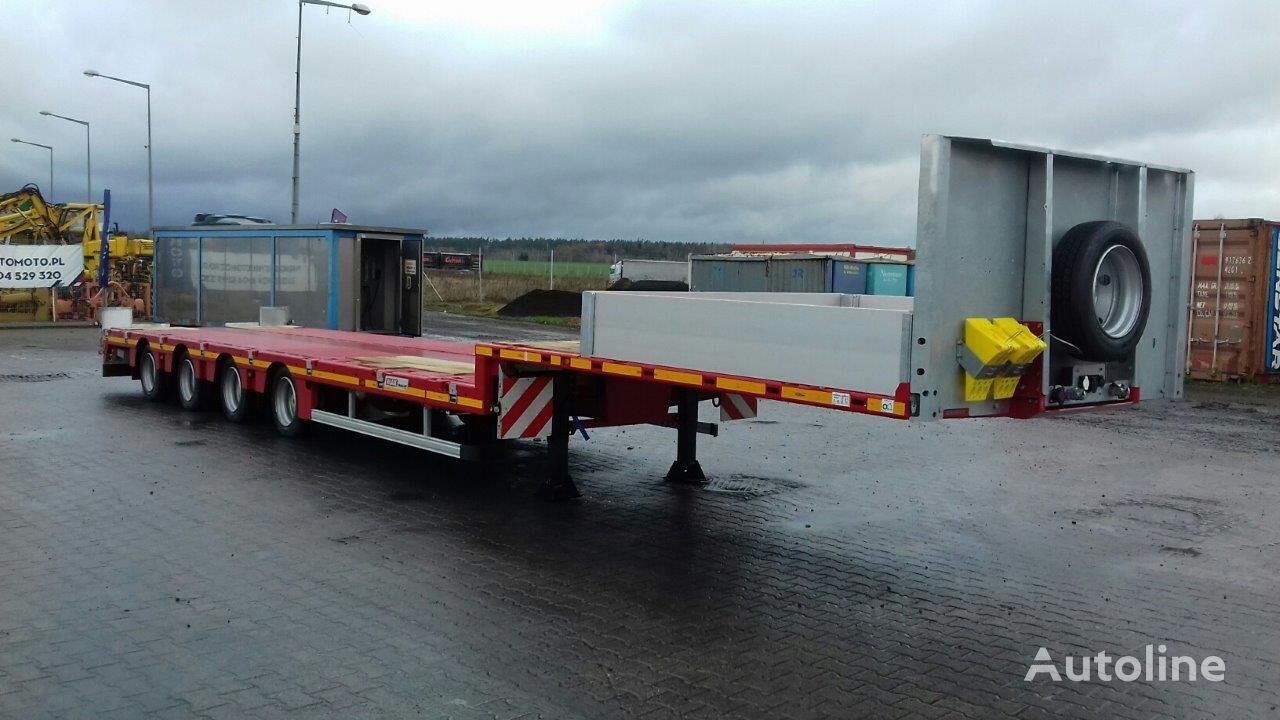new MAX Trailer 100-N-4AX-9.30 low bed semi-trailer