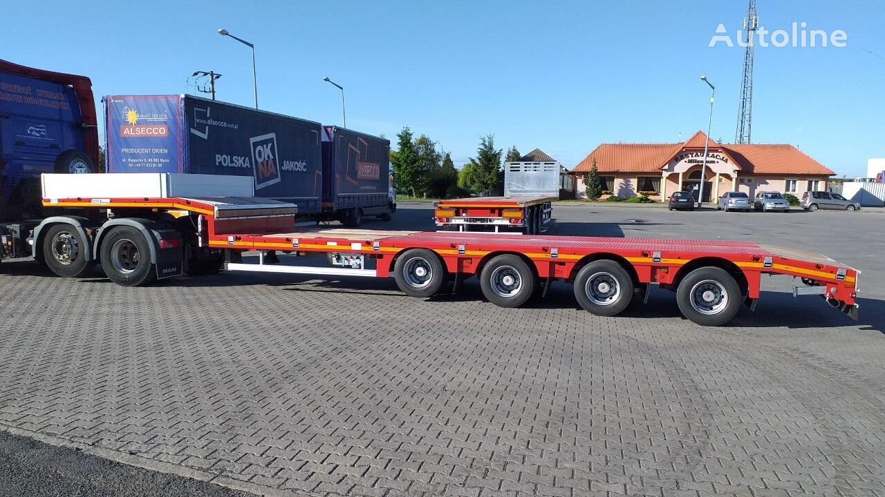 new MAX Trailer MAX100-N-4A-9.30 low bed semi-trailer