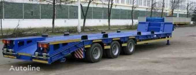 new MAZ 997700 low bed semi-trailer