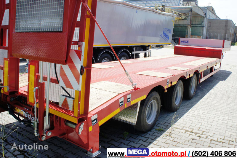 new MEGA 3 AXEL LOWBED SEMI-TTRAILER / HYDRAULIC RAMPS!! low bed semi-trailer