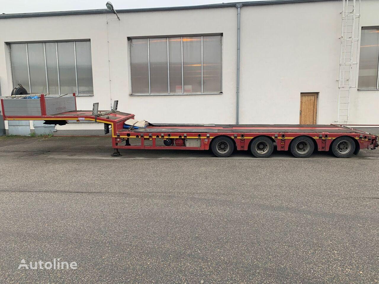 MÖSLEIN STT 4  -  4 axles telescopic, extendable low bed semi-trailer