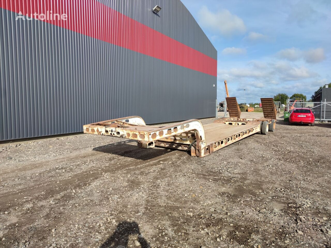 MURRAY, 16 tyre heavy duty low bed low bed semi-trailer