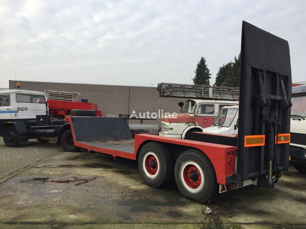 NETAM TA 8.F20-12 (SALE!!!) low bed semi-trailer
