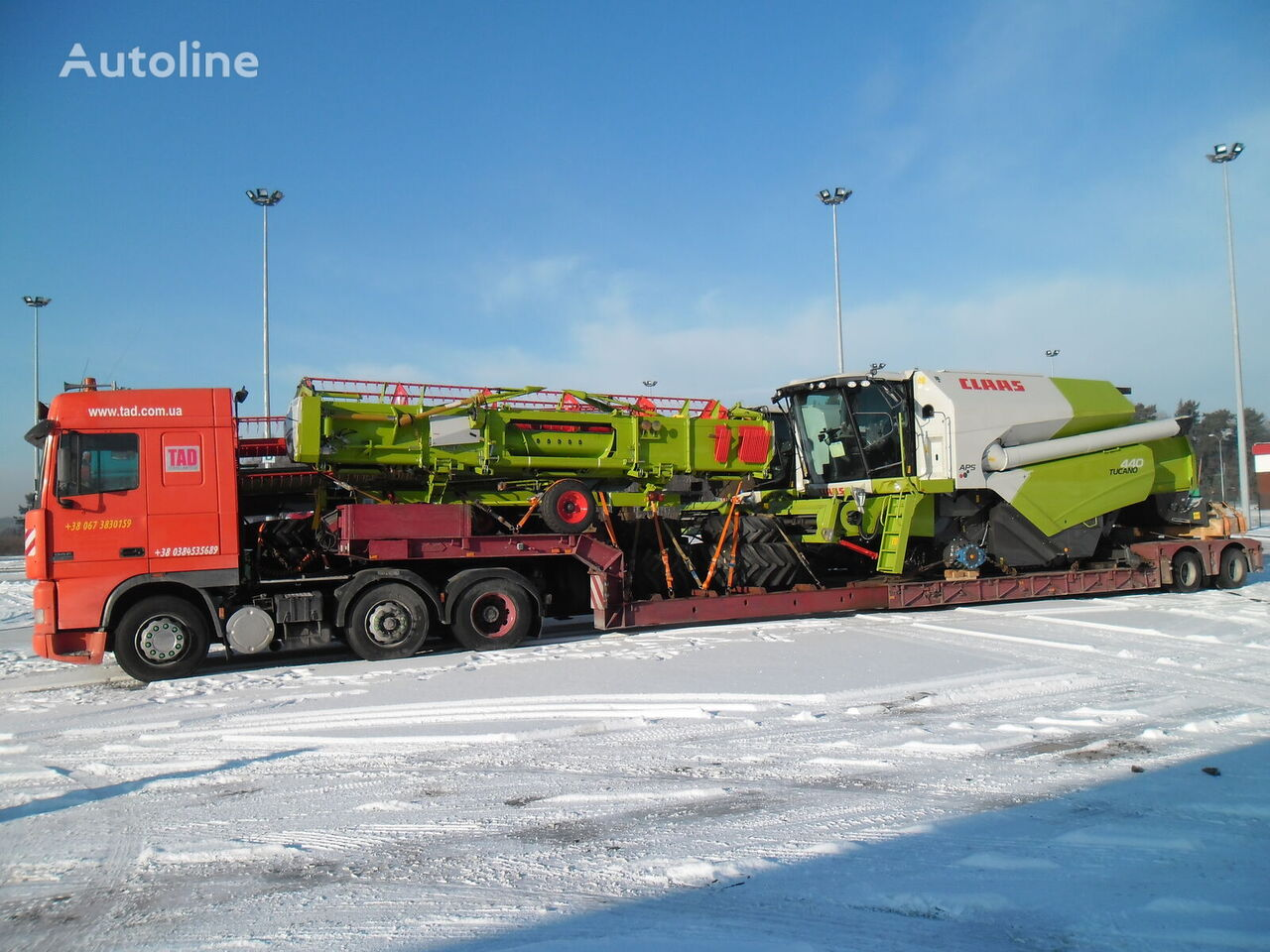 NOOTEBOOM low bed semi-trailer