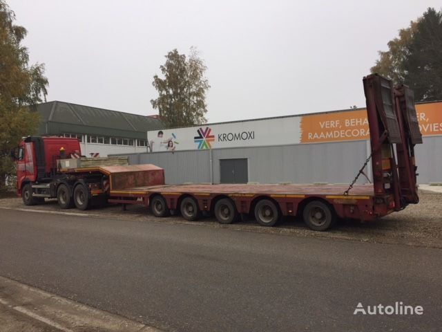 NOOTEBOOM MCO-58-05, Ladehöhe 800 mm !! - 5 x SAF achs zwangslenkung low bed semi-trailer