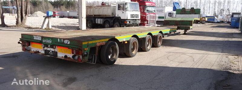NOOTEBOOM Mco-50-04V low bed semi-trailer