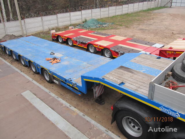 NOOTEBOOM OSD 58 5V low bed semi-trailer