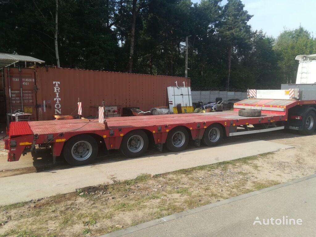 NOOTEBOOM OSDS 58 04 V low bed semi-trailer