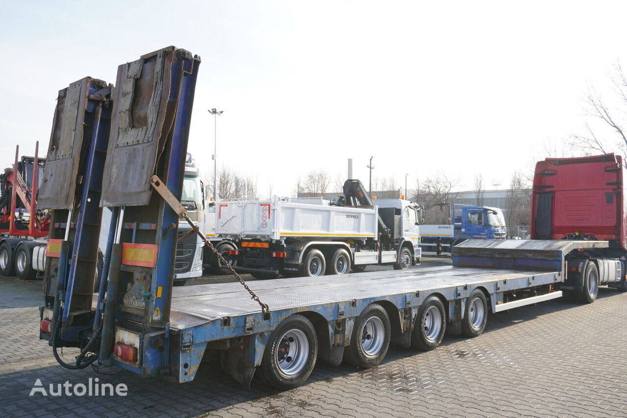 NOOTEBOOM OSDS-58-04, expanded, hydraulic ramp low bed semi-trailer