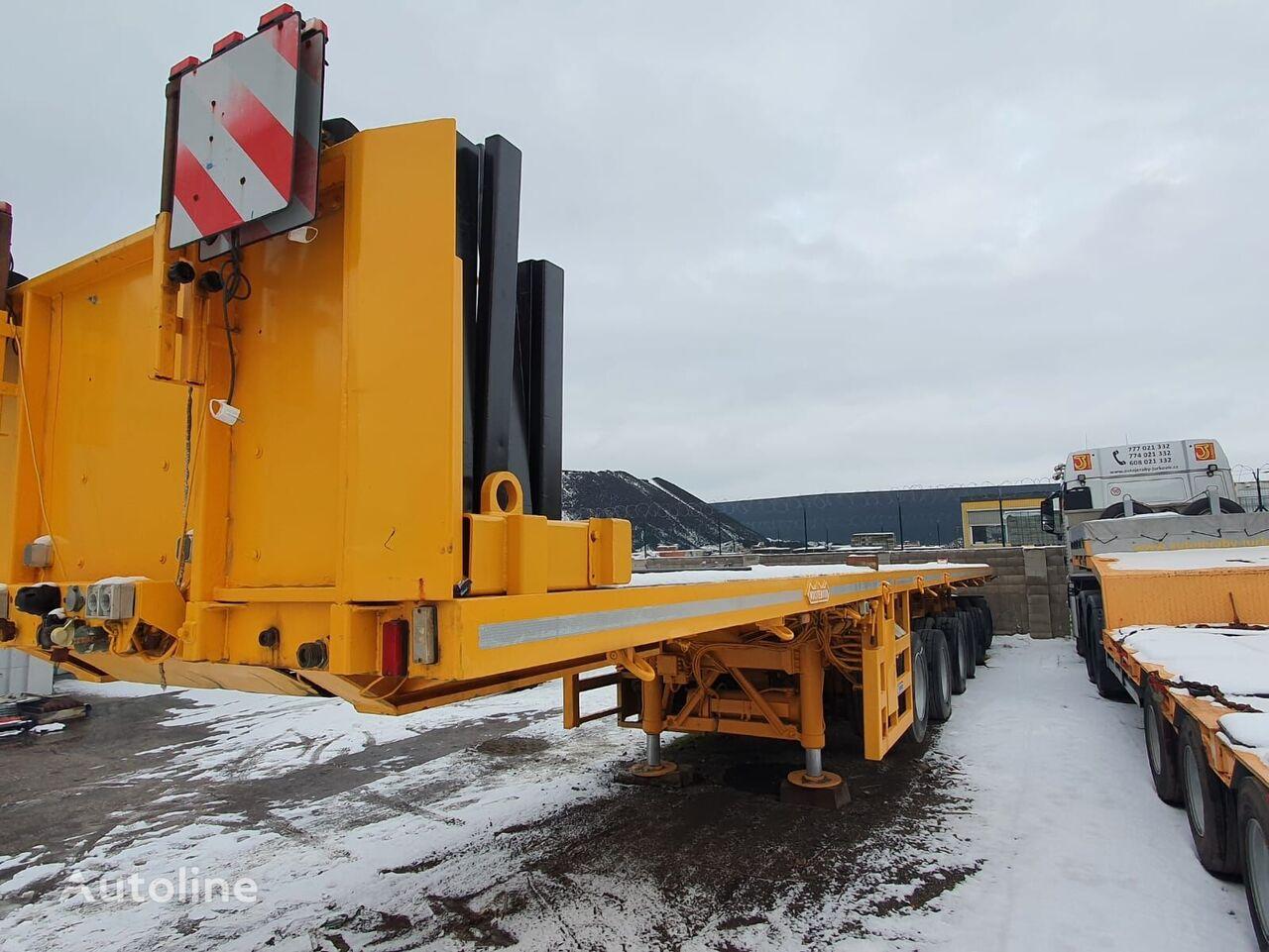 NOOTEBOOM OVB 102-06 90.000kg low bed semi-trailer