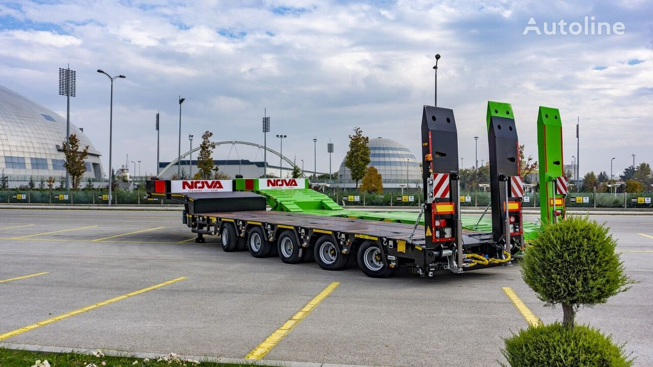 new NOVA Lowbed Semi Trailers from Factory low bed semi-trailer