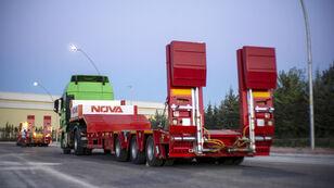 new NOVA NEW 3 AXLE LOWBED SEMI TRAILER PRODUCTION      low bed semi-trailer