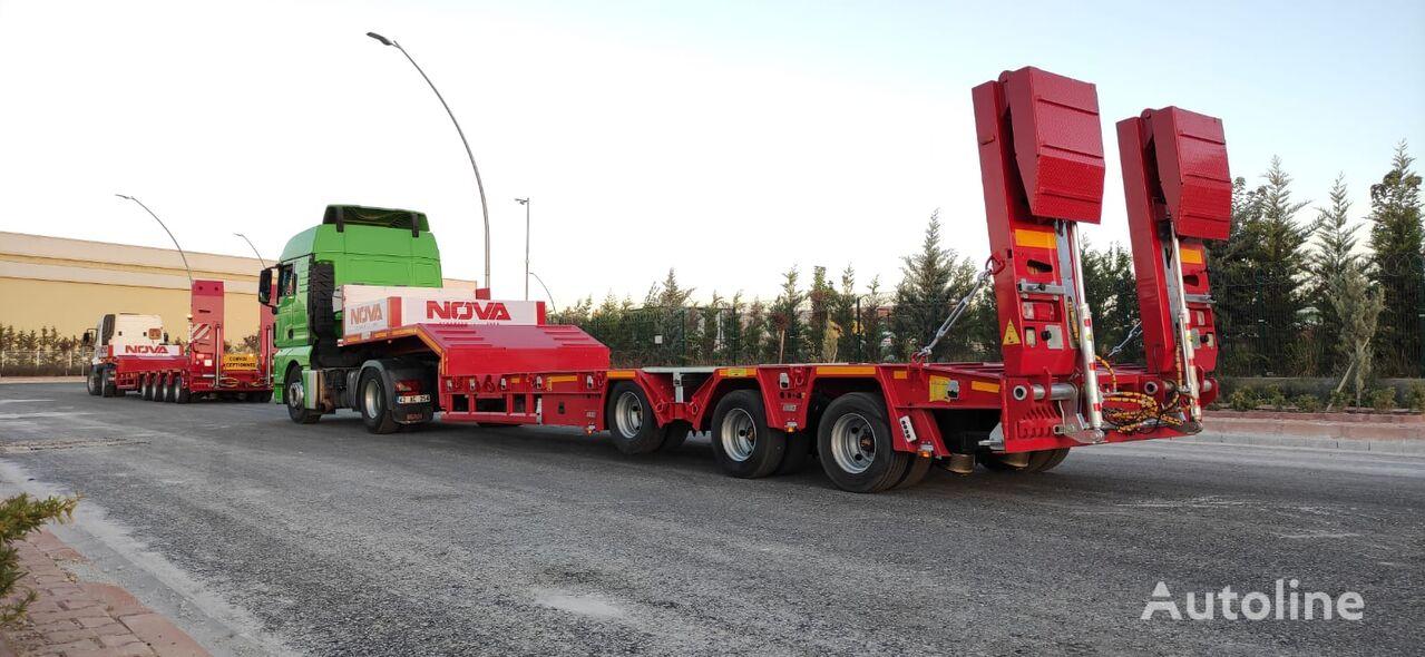 new NOVA NEW 3 AXLE LOWBED SEMI TRAILER PRODUCTION low bed semi-trai low bed semi-trailer