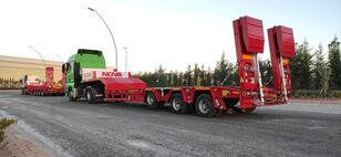 new NOVA NEW 3 AXLE LOWBED SEMI TRAILER PRODUCTION low bed semi-trailer l low bed semi-trailer