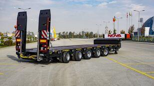 new NOVA NEW 5 AXLE LOWBED SEMI TRAILER PRODUCTION low bed semi-trailer l low bed semi-trailer