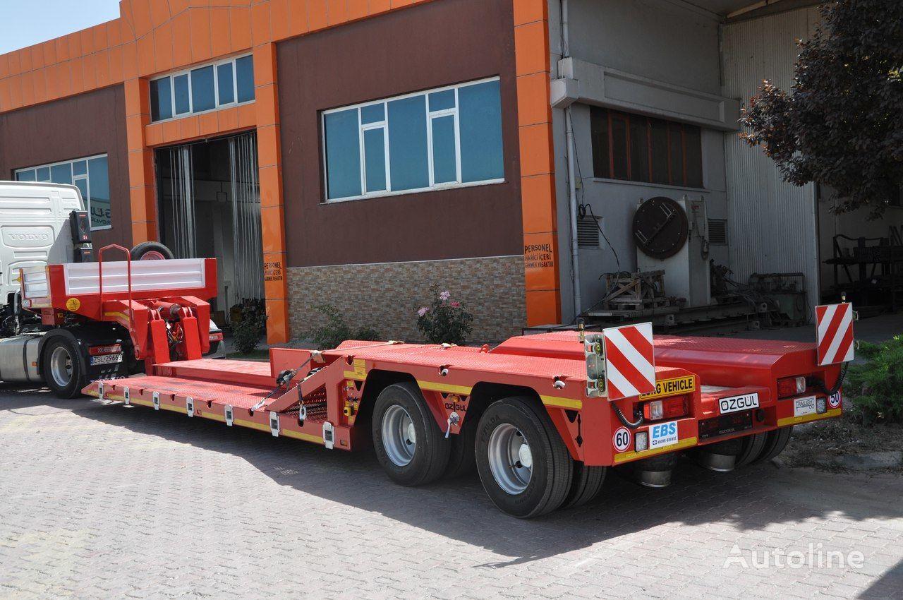 new OZGUL 2 AXLE LOW LOADER  low bed semi-trailer