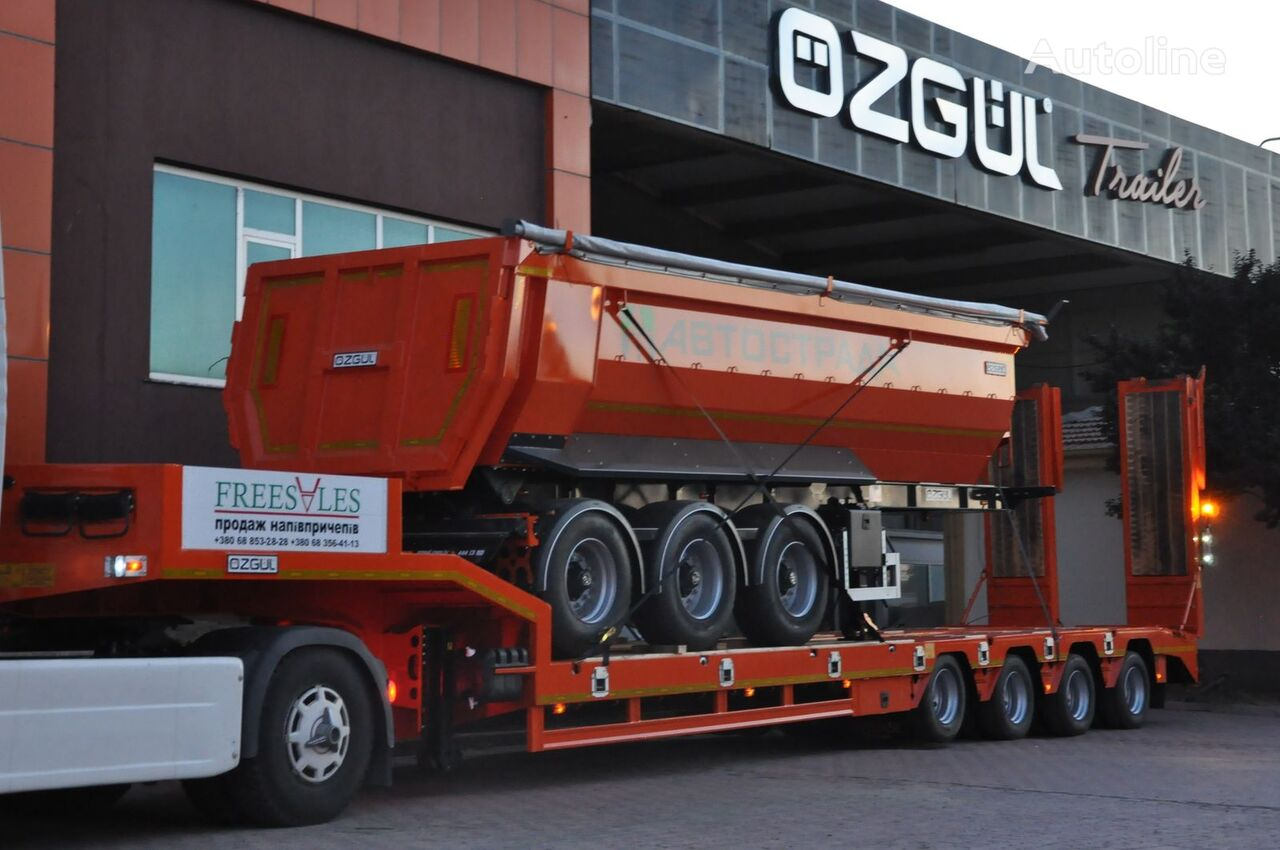 new OZGUL Tral Low Bed low bed semi-trailer