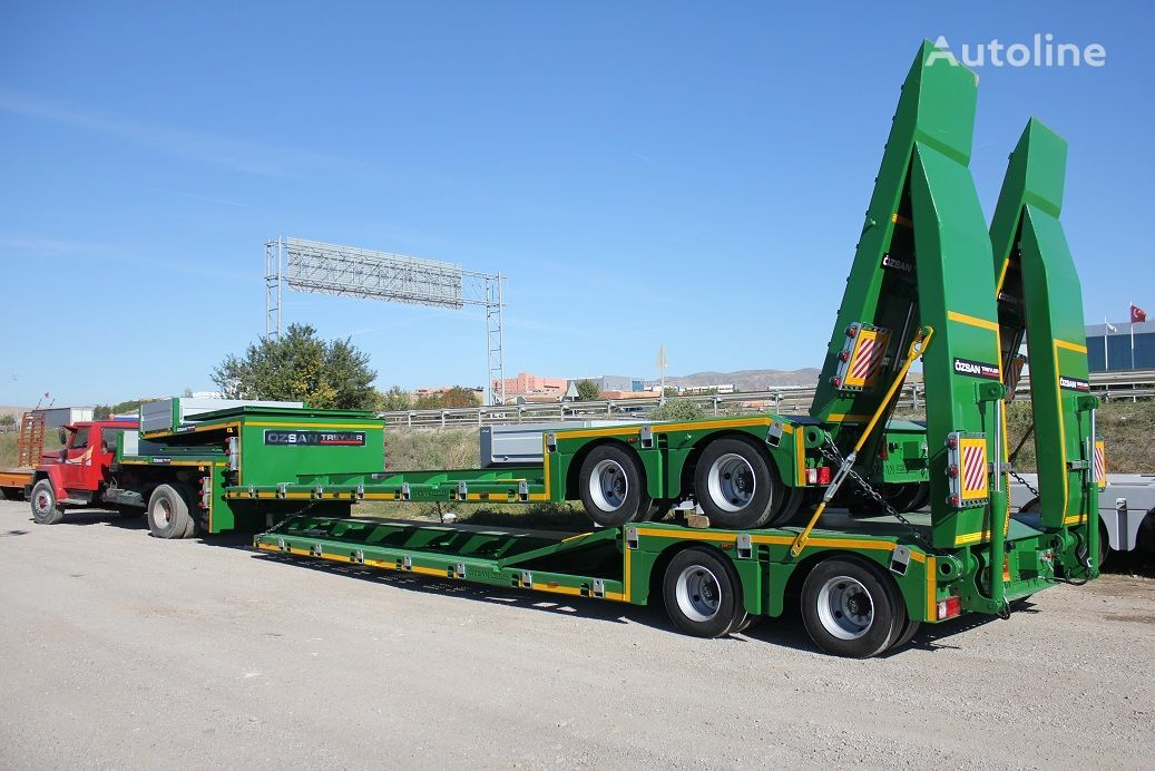 new Ozsan Trailer 2 Axle Low-Bed (OZS-L2) low bed semi-trailer