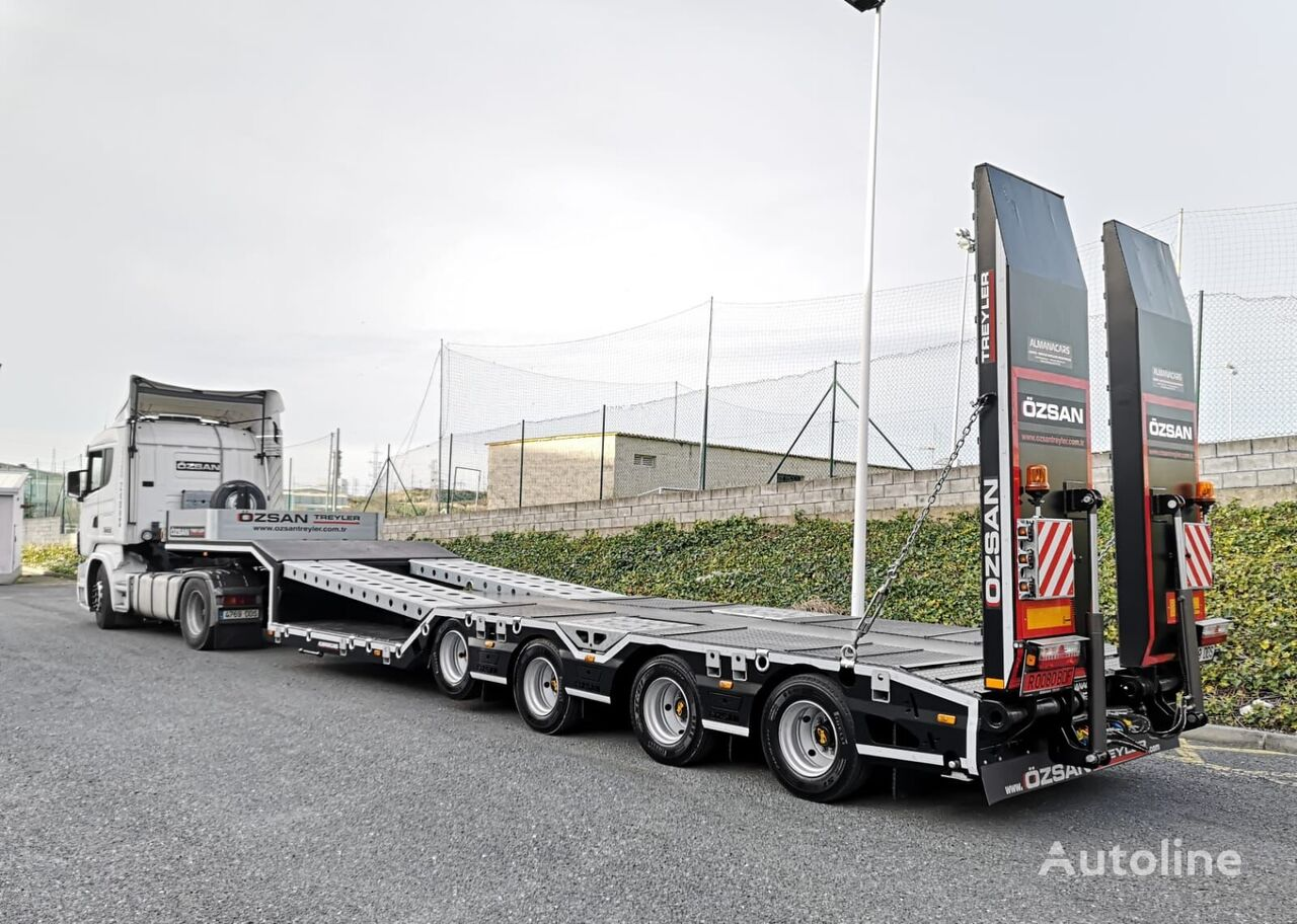 new Ozsan Trailer 4 Axle Low-Bed (OZS-L4) low bed semi-trailer