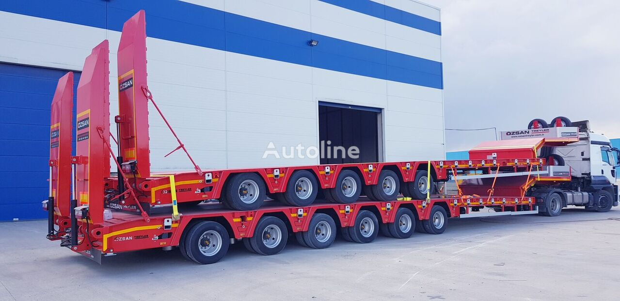 new Ozsan Trailer 5 Axle Lowbed (OZS-L5) low bed semi-trailer