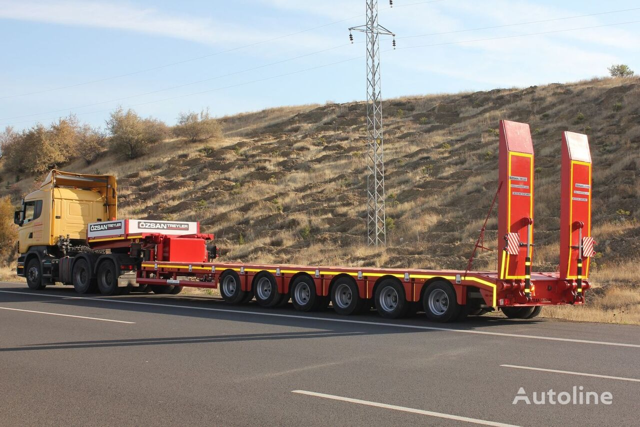 new Ozsan Trailer 6 Axle Lowbed (OZS-L6) low bed semi-trailer