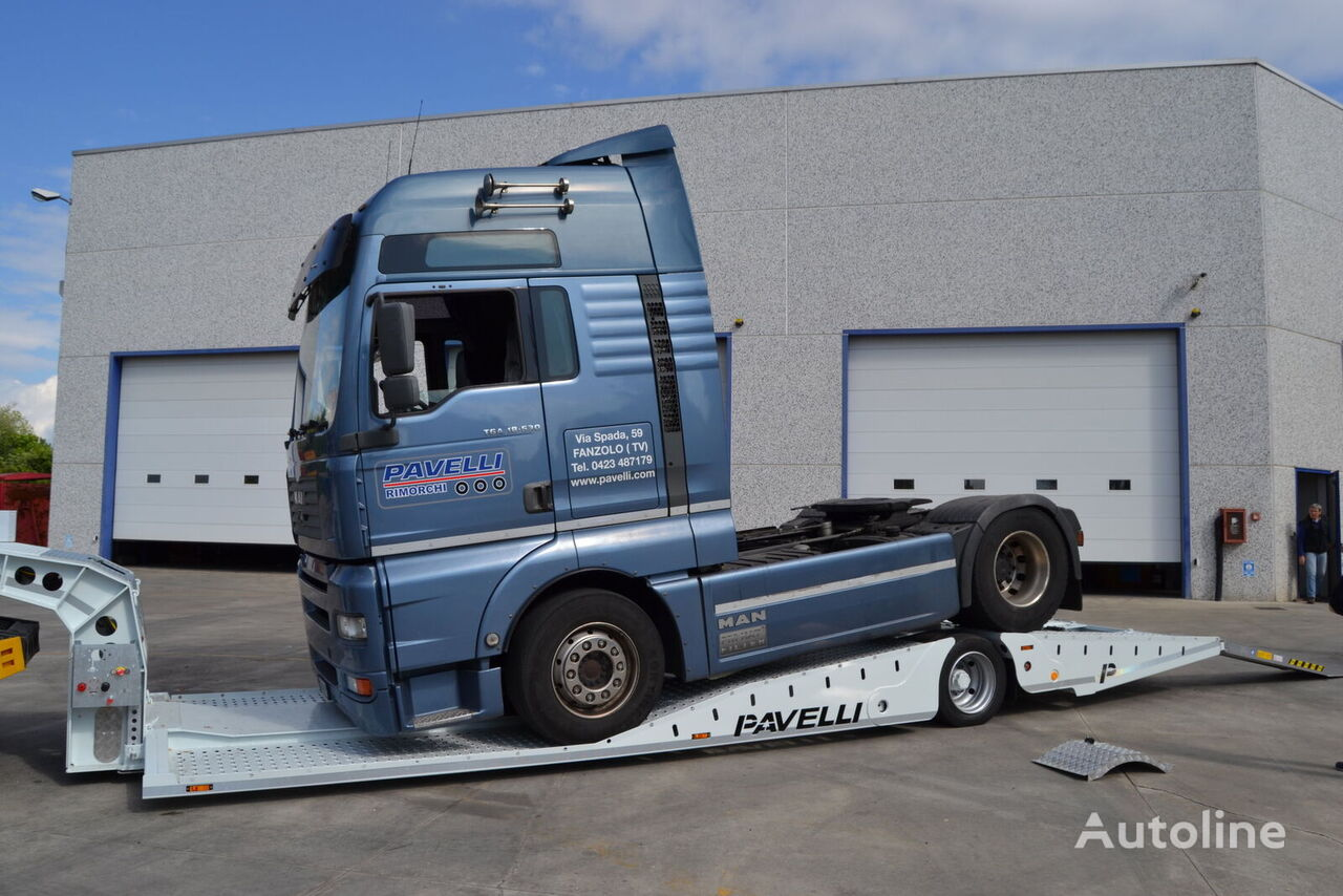 new PAVELLI STV LITE low bed semi-trailer