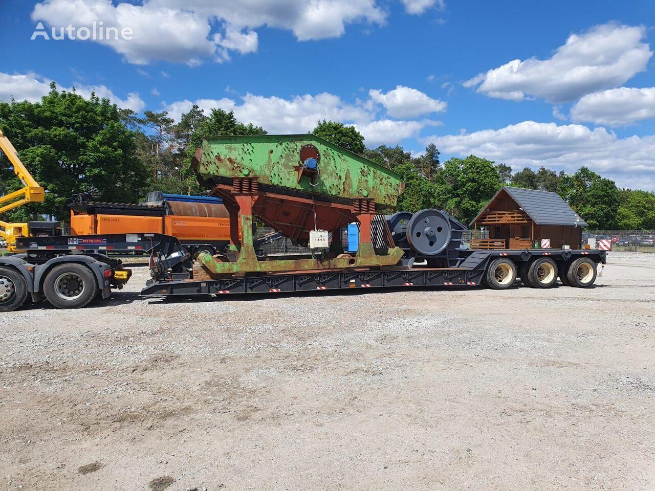 PITTS LB-52-24D TIEFBETT !  low bed semi-trailer