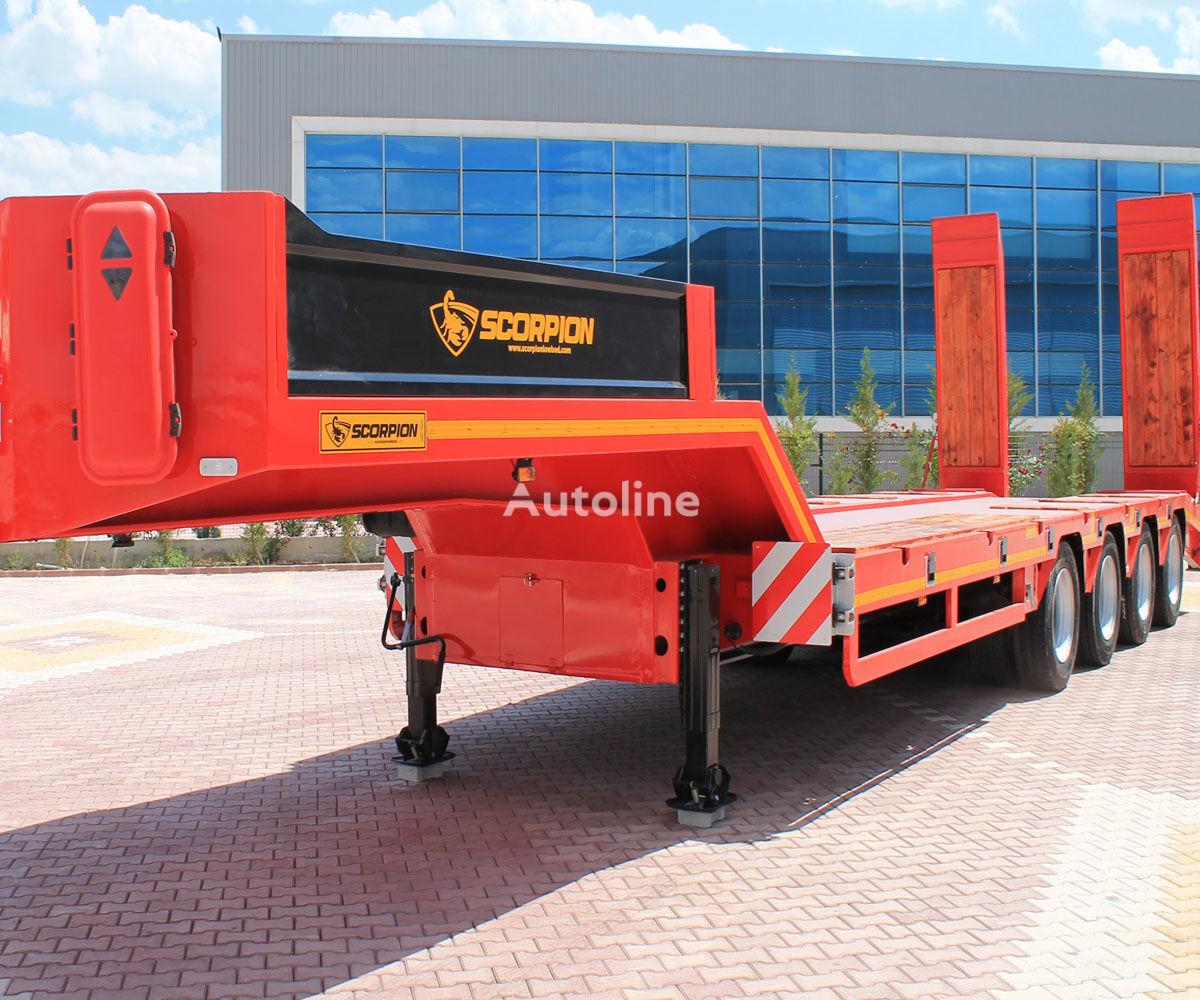 new SCORPION TRAILER 2019 NEW 4 AXLE (MANUFACTURER COMPANY) low bed semi-trailer