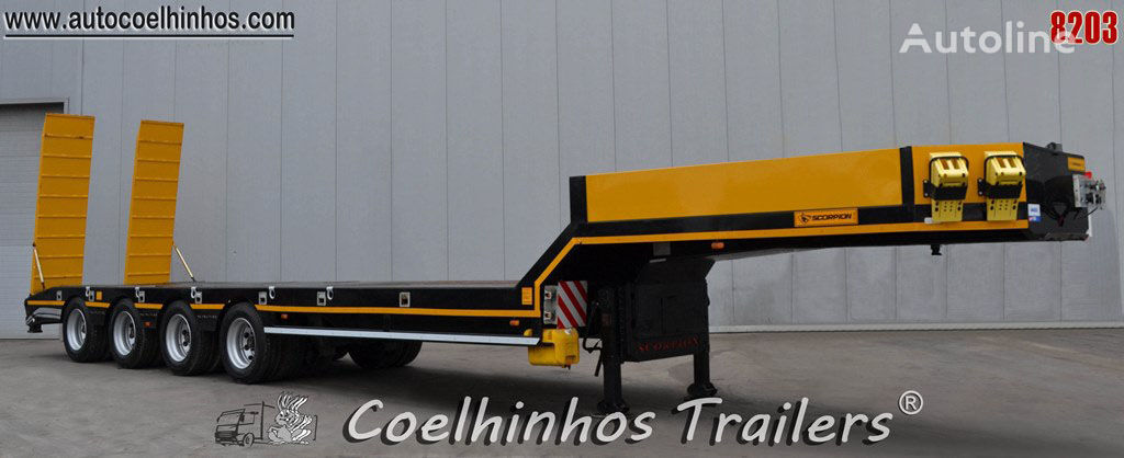 SCORPION TRAILER SPC 4 low bed semi-trailer