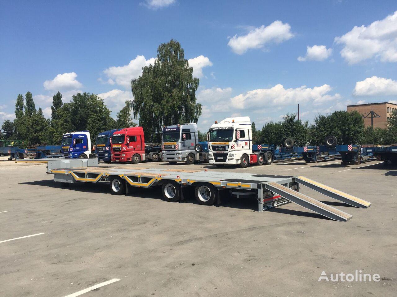 new TAD Jumbo 30-3 low bed semi-trailer