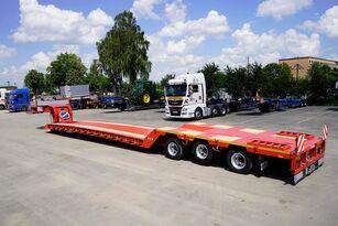 new TAD TUR 40-3 low bed semi-trailer
