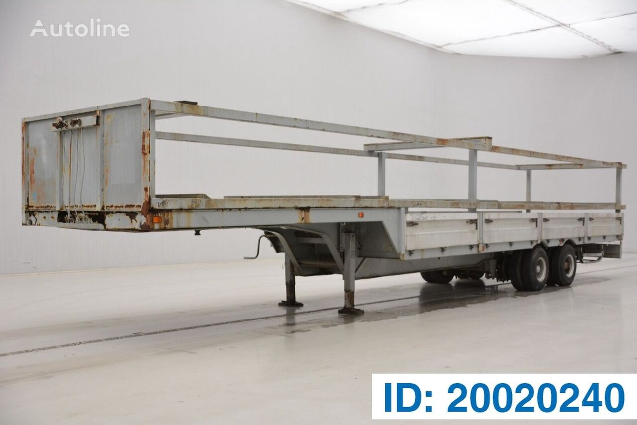 TITAN LOW BED TRAILER  low bed semi-trailer