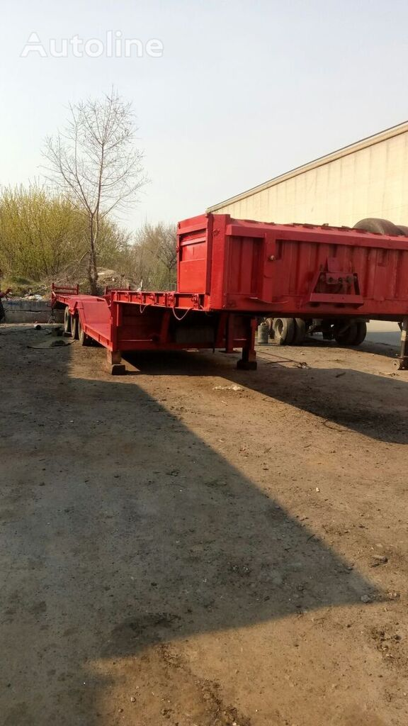 TRAILOR low bed semi-trailer