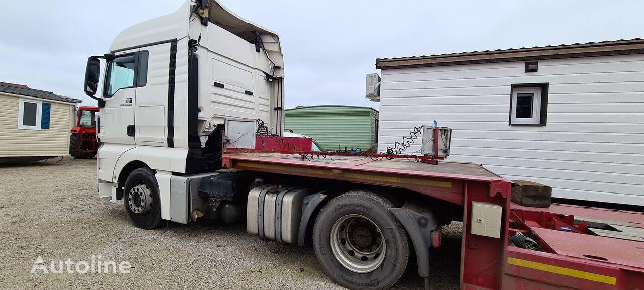 VAN HOOL 3H0018 low bed semi-trailer