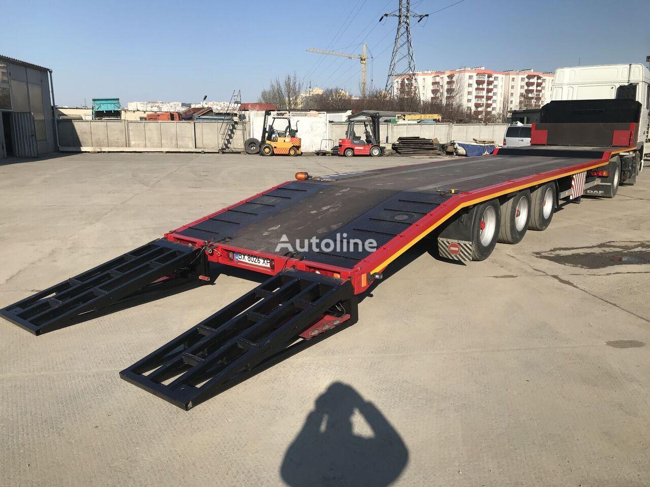 VAN HOOL TRAL low bed semi-trailer