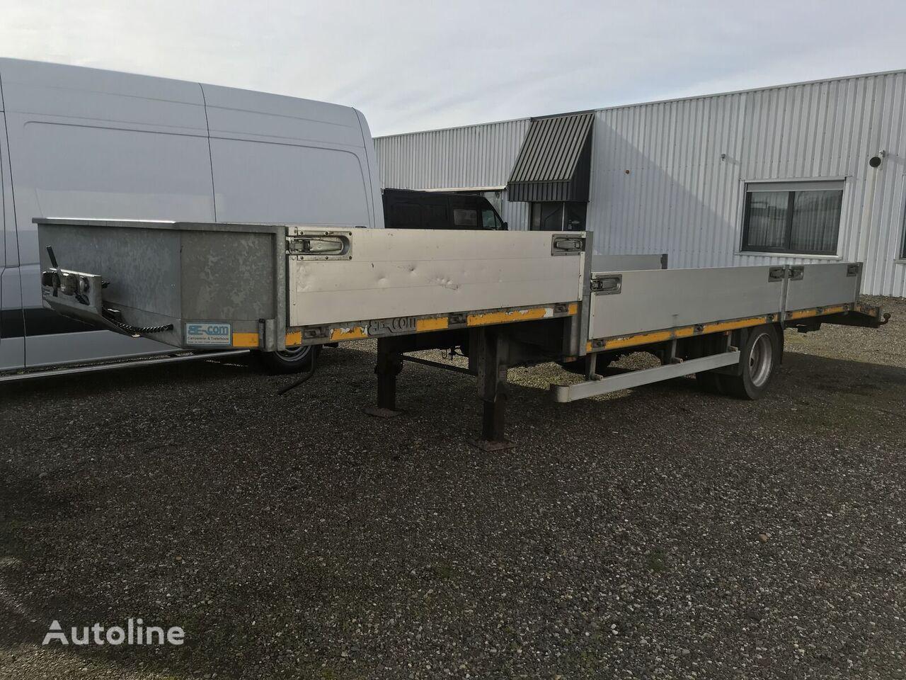 Van den Oever low bed semi-trailer