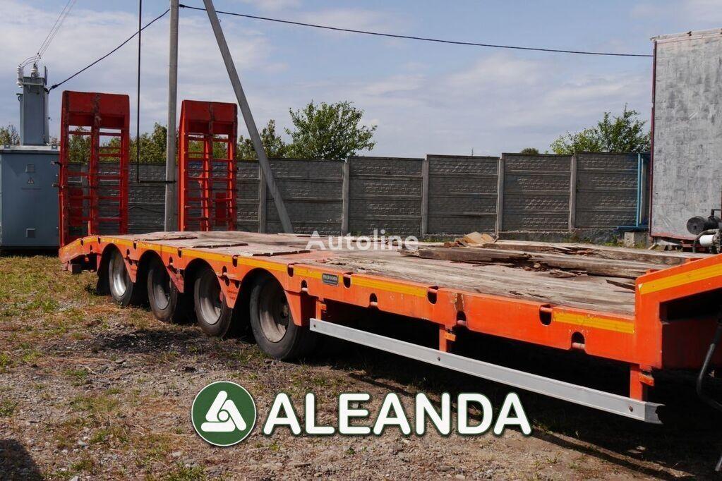 YALÇİN DORSE 4LBUz low bed semi-trailer