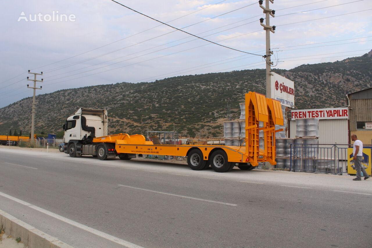 new ÇINLER LOWBED TRAILER low bed semi-trailer
