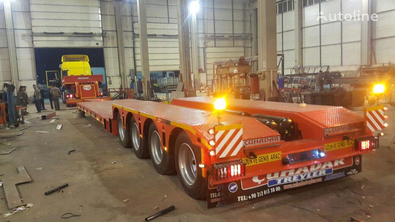new ÇUHADAR TREYLER low bed semi-trailer
